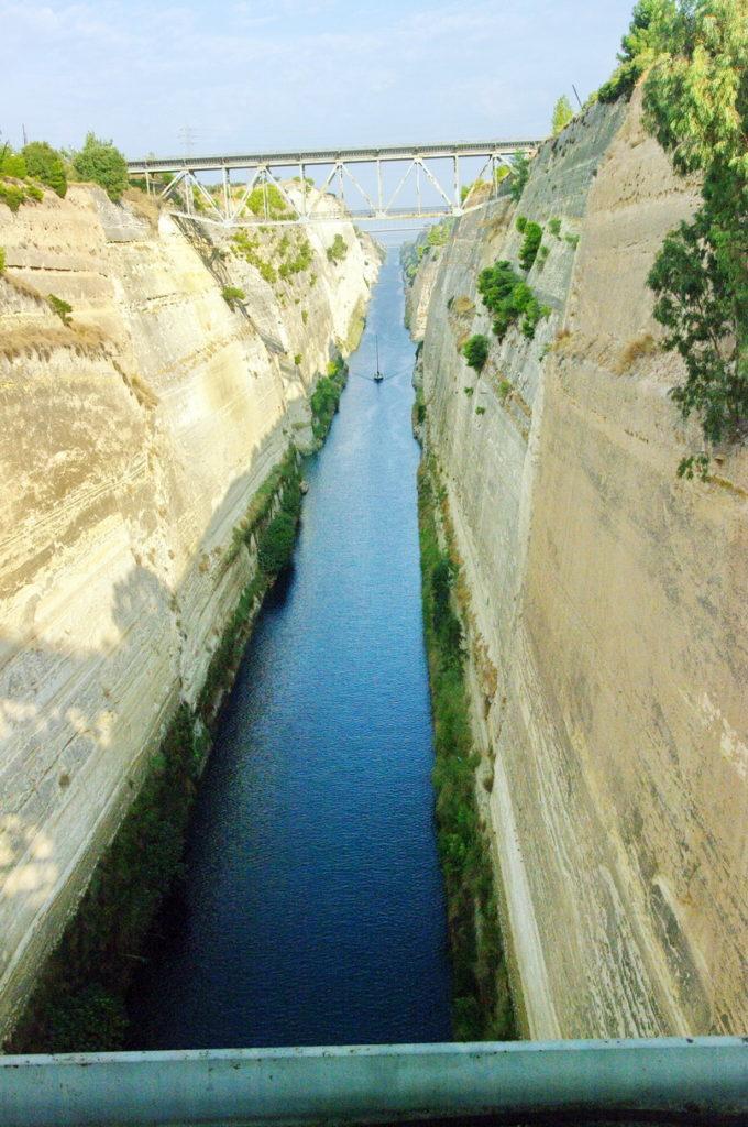 Der Kanal von Korinth, Einfallstor in den gleichnamigen Golf
