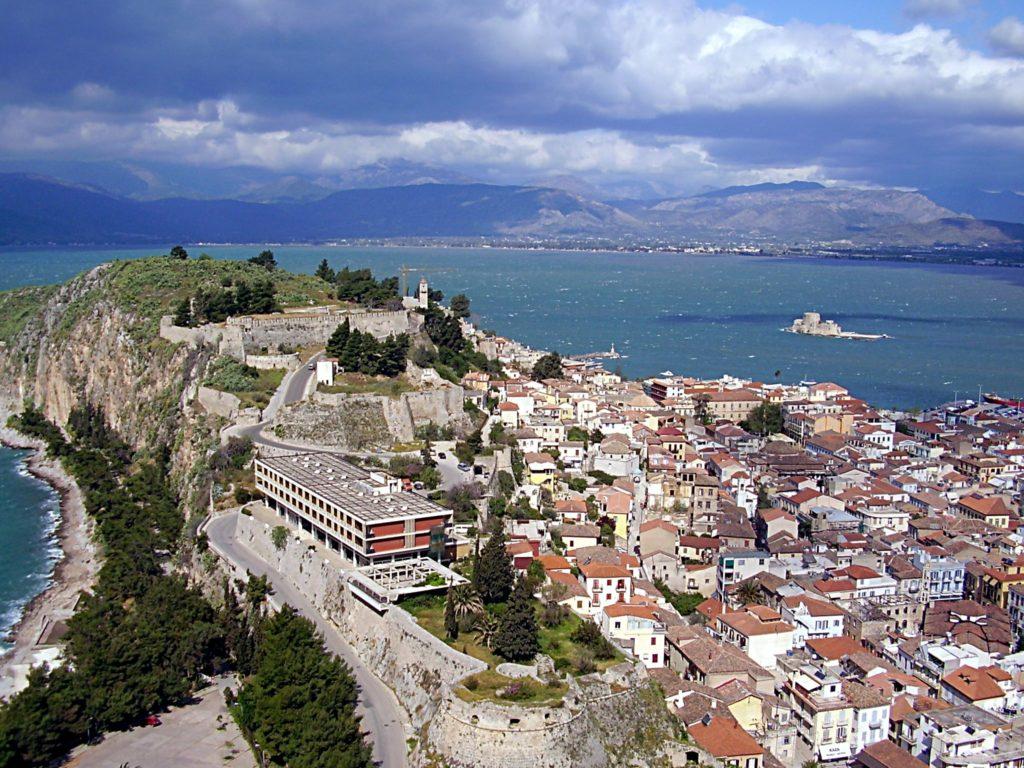 Nafplion als idealer Ausgangspunkt zum Segeln rund um den Peloponnes