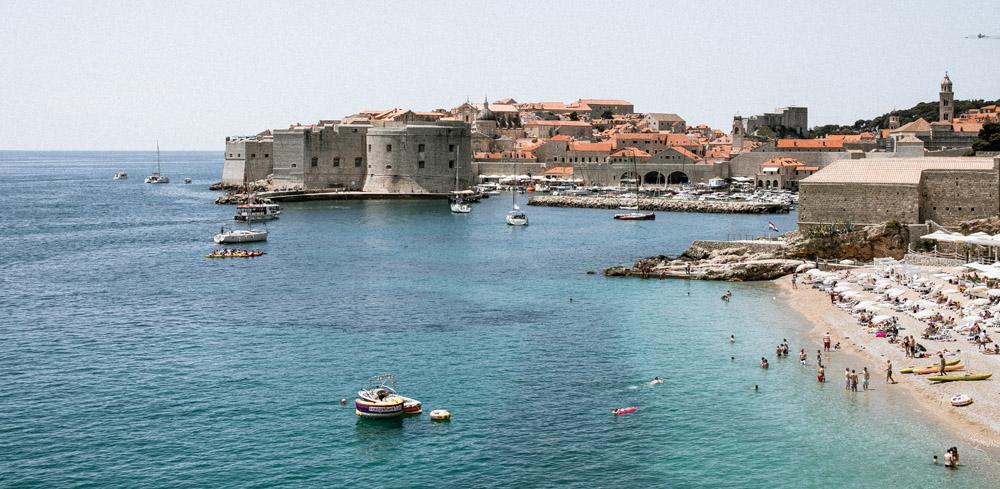 Dubrovnik an einem ruhigen Tag